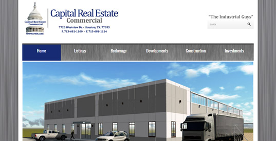 Real Estate Houston Responsive Web Design Portfolios