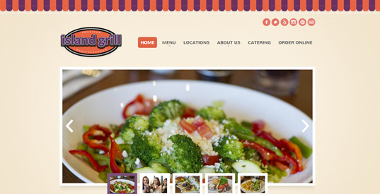 Restaurant Houston Responsive Web Design Portfolios